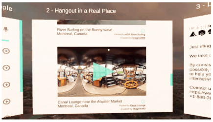 hangout out together virtually - hoppin